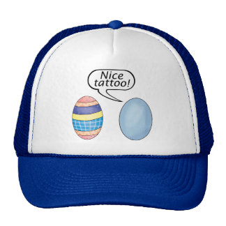 Nice Tattoo Easter Eggs Cap