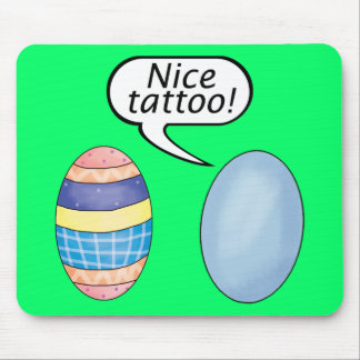 Nice Tattoo Easter Eggs Mouse Pad