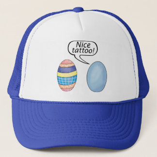 Nice Tattoo Easter Eggs Trucker Hat