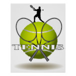 Nice Tennis Insignia Poster