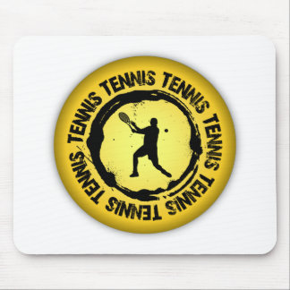 Nice Tennis  Seal (Male) Mouse Pad