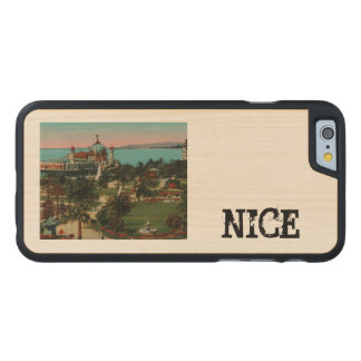Nice - the gardens of Albert II France Carved® Maple iPhone 6 Slim Case