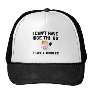Nice Things Toddler Girl Cap