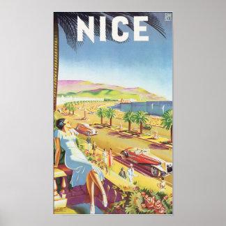 Nice Vintage Travel Poster Poster