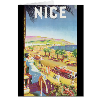 Nice Vintage Travel Poster Card