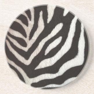 nice zebra print pattern coaster
