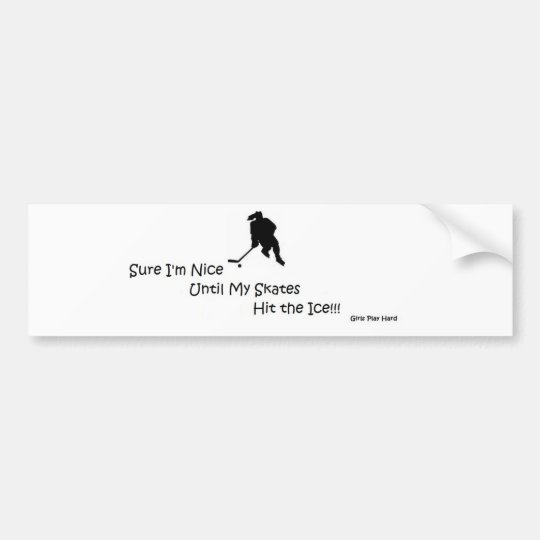 NiceIce2.jpg Bumper Sticker