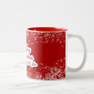 Nicely designed Christmas mug