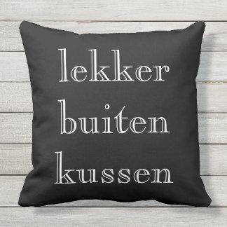 Nicely outside kissing Outdoor 2 colours kiss Outdoor Cushion