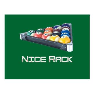 NiceRack White Postcard