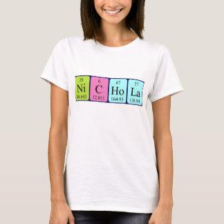 Nichola periodic table name shirt