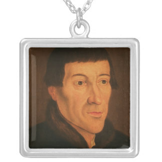 Nicholas Copernicus, c.1776 Silver Plated Necklace