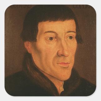 Nicholas Copernicus, c.1776 Square Sticker
