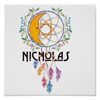 Nicholas Dreamcatcher Wall Art