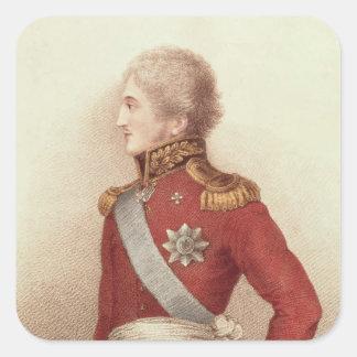 Nicholas I, Czar of Russia Square Sticker