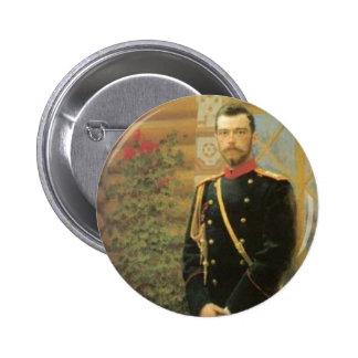 Nicholas II 6 Cm Round Badge