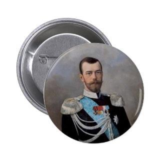 Nicholas_II_Alexandrovich_by_N.Shilder 6 Cm Round Badge