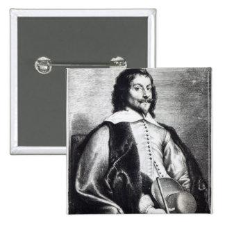 Nicholas Lanier, engraved by Lucas Vostermans 15 Cm Square Badge