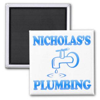 Nicholas s Plumbing Fridge Magnet