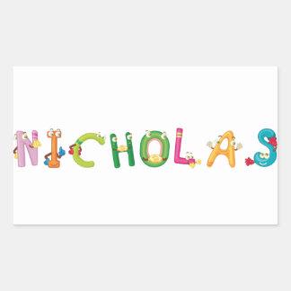 Nicholas Sticker