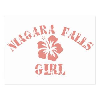 Nicholasville Pink Girl Postcard