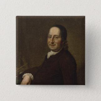 Nicholaus Ludwig Count von Zinzendorf 15 Cm Square Badge