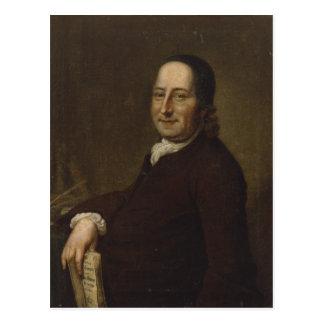 Nicholaus Ludwig Count von Zinzendorf Postcard