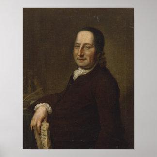 Nicholaus Ludwig Count von Zinzendorf Poster