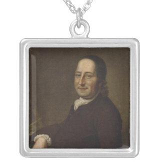 Nicholaus Ludwig Count von Zinzendorf Silver Plated Necklace
