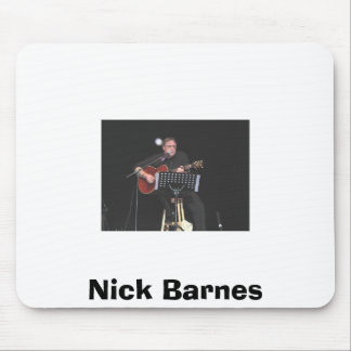 nick @ congress, Nick Barnes Mouse Mat