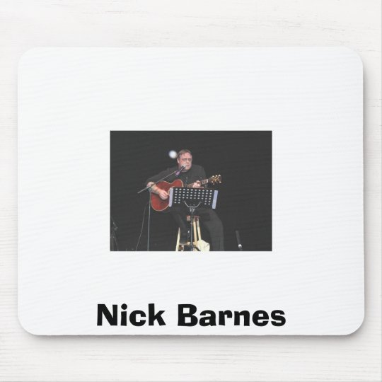 nick @ congress, Nick Barnes Mouse Mat
