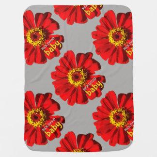 NiCK DAViD baby - Flower Power Blankie Baby Blanket