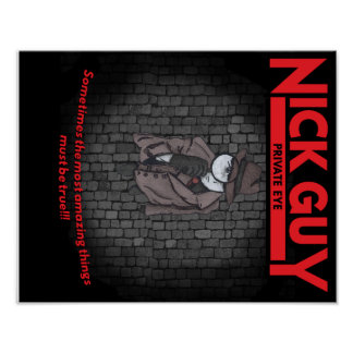 Nick Guy, Private Eye Poster