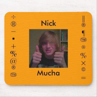 Nick Mucha Mousepad