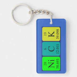 Nick periodic table name keyring