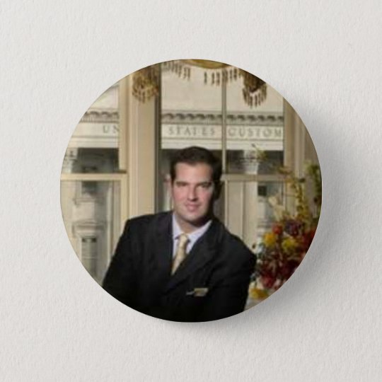 nick-photo2 6 cm round badge