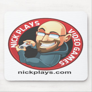 Nick Plays Video Games Mousepad
