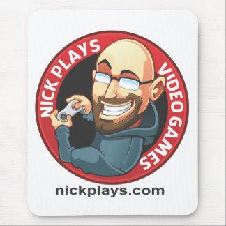 Nick Plays Video Games Mousepad