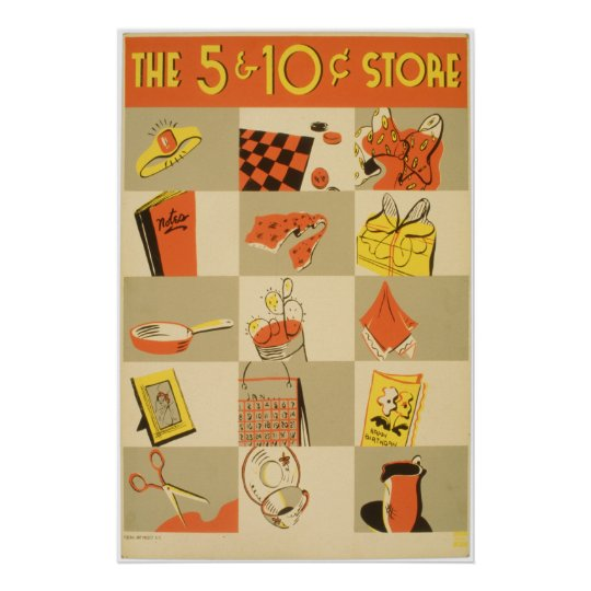 Nickel and Dime Store Poster