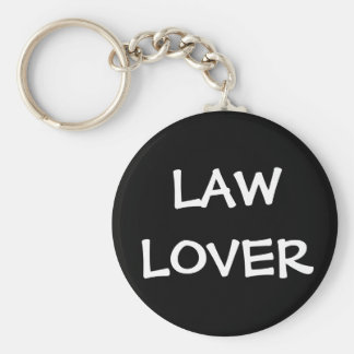 Nickname for Lawyer Judge Attorney - Law Lover Key Ring