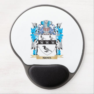 Nicks Coat of Arms - Family Crest Gel Mouse Mats