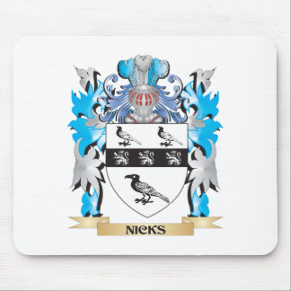 Nicks Coat of Arms - Family Crest Mouse Pad