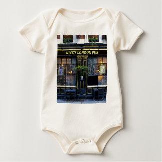 Nick's London Pub Baby Bodysuit