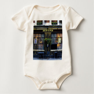 Nick's Pub Baby Bodysuit