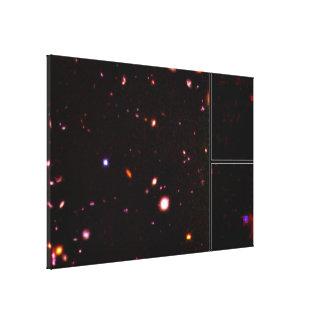 NICMOS- More Than 300 Faint Galaxies Canvas Print