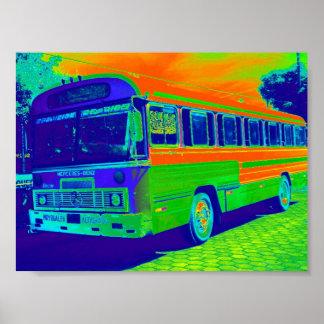 """""""Nico Bus"""" Print"""