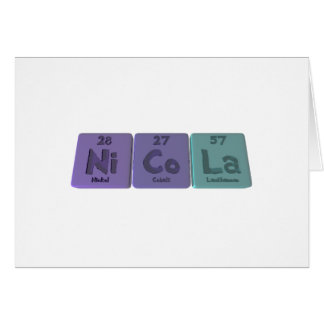 Nicola  as Nickel Cobalt Lanthanum Card