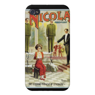 Nicola Prince of Magic ~ Vintage Magician Act iPhone 4 Cover