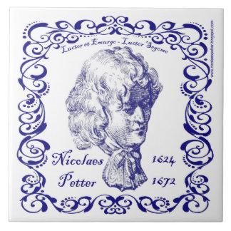 Nicolaes Petter - Dutch Blue Tile