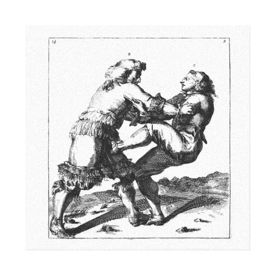 Nicolaes Petter / Romeyn de Hooghe canvas Canvas Print